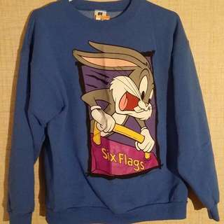 Vintage 1996 Looney Toons Bugs Bunny Crewneck