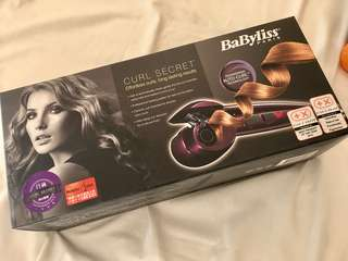 BNIB Babyliss curler