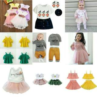 Pre-order Baby Clothing RM29