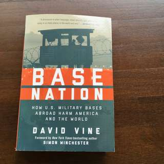 BRAND NEW BOOK for Sale - Base Nation