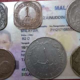 6 keping duit lama