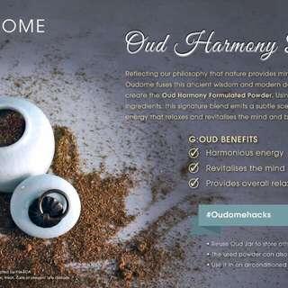 Oud harmony fragrance set