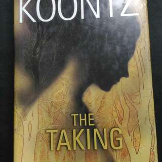 DEAN KNOOTZ  😘THE TAKING