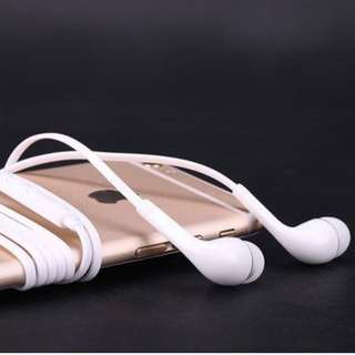 手機/ 電腦 有線耳機/耳筒 wired earphone  (黑/白/橙/紫)