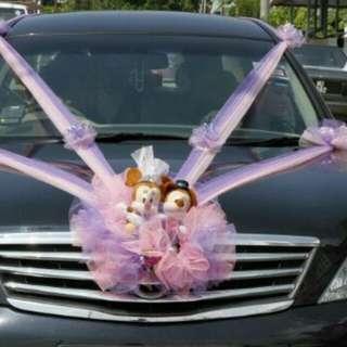 Wedding Car for Rental includes chauffeur