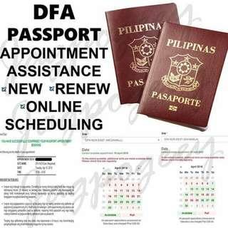 Rush passport appointment!