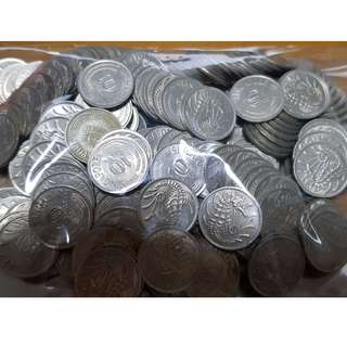 Singapore 1st series 10 cent coin (100 pcs)