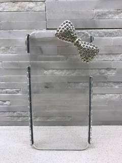 Sparkly bow rhinestone iPhone 6 Plus phone case - never used