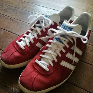 Original Red Adidas Gazelle