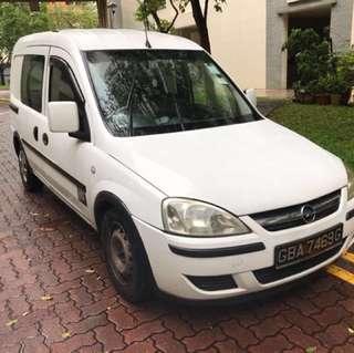 Van for rent Opel combo hiace urvan lorry dyna Cabstar nv200
