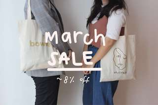 8% OFF SALE (TSC) Minimalist Tote Bags, Stickers and Shirts