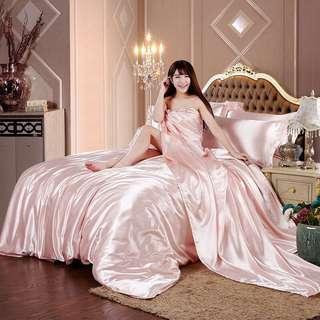 Pure Silk Super single Bedsheet sets