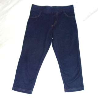 Charity Sale! Authentic Target Baby Girl Denim Jeggings Tights Size 8