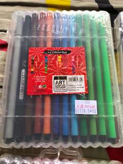 Color 24 pens