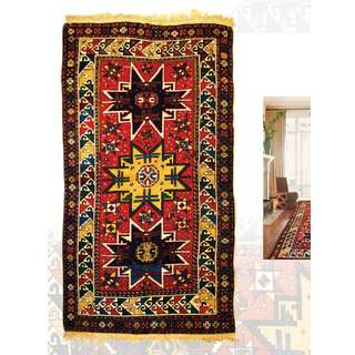 SAMEYEH LOT NO 16260 LESGI FROM CAUCASUS 190 X 108 CM