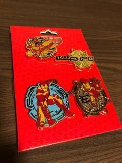 Disneyland Marvel Ironman pins