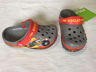 Authentic Kids' Crocband Monster Truck Clog Size C6/7