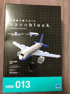 Brand New Nanoblock Airliner