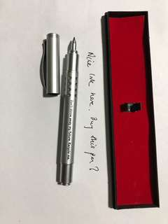 Special pen with wonder wordings