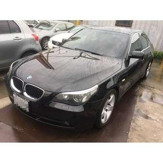 03 BMW E60 530I 頭披改款 全車漂亮 可全額貸 免頭款 0955212607楊先生
