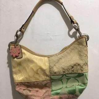 Authentic Multicolor small Coach Bag