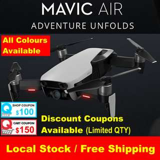 DJI MAVIC AIR (up to $250 off)