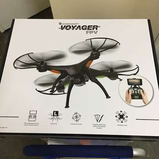 Drone cocoon voyager