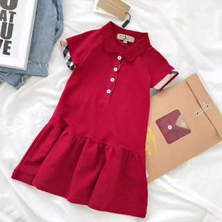 Burberry Polo Dress for kids
