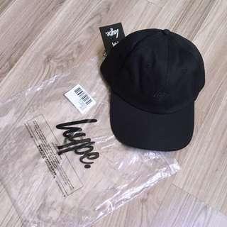 🇬🇧Hype Baseball Cap Dad Cap 英國Hype限量全黑款棉質棒球帽老帽