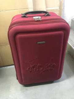 Authentic Polo Club Medium sized Luggage