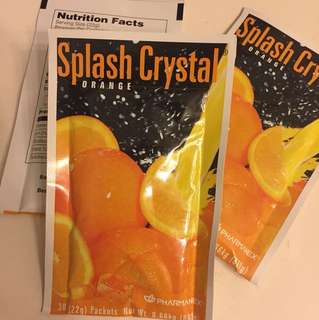 Pharmanex Splash Crystal Orange