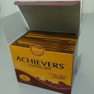Achievers Coffee 10 sachets per box