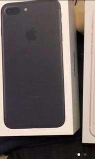 i phone 7 plus 啞黑 128GB