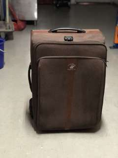 Authentic Polo club large Luggage