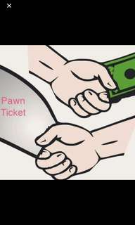 Are You Selling Your Pawn Ticket,Watches or Gold?