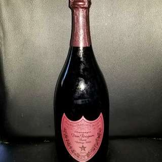 Dom Perignon Rose 2000 Champagne 香檳, Not Krug Moet red wine whisky 紅酒 威士忌