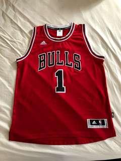 NBA bulls jersey size L
