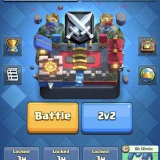 5k pb Clash Royale account