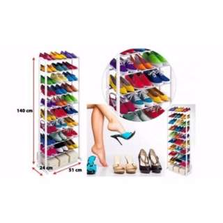 10 Layers of amazing Shoe Rack Organizer