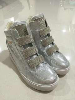 Silver Blink Sneakers (Platform)