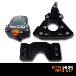 KTM 690 ENDURO 08-15 MscMoto RALLE MOTO RM3 STEERING DAMPER KIT