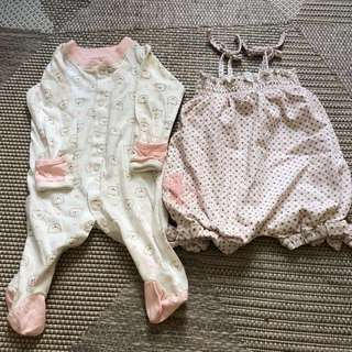 250 both Authentic Juicy Couture romper
