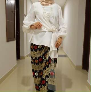 blouse muslim pesta