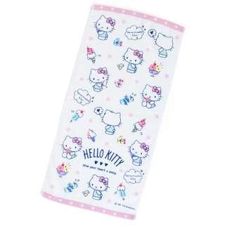 Japan Sanrio Hello Kitty Face Towel (Ice)