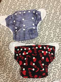 Cloth diapers (Green flute brand)