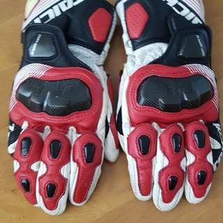 RS Taichi GP WRX track gloves