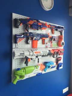 Nerf Bundle with Pegboards