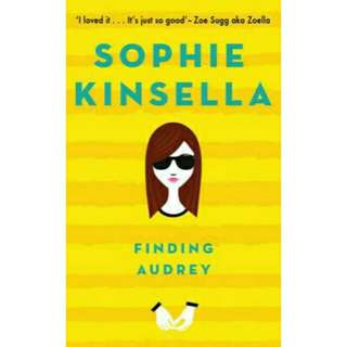 [ Brand New]  Finding Audrey          By: Sophie Kinsella  Paperback