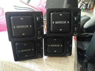 Japan side mirror switch for Daihatsu & Perodua