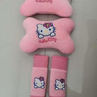 Car seat accesories hello kitty kondisi sgt baik😍